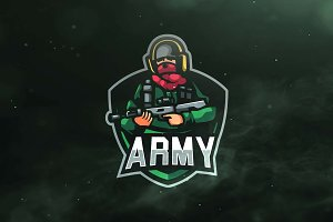Army Sport and Esports Logo