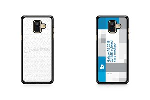 Galaxy A6 2018 2d Case Mockup