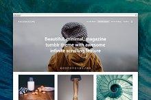 Kaleidoscope tumblr theme