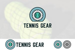 Tennis Gear Sport Equipment Logo