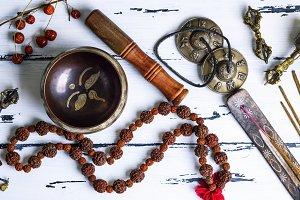 Tibetan religious objects