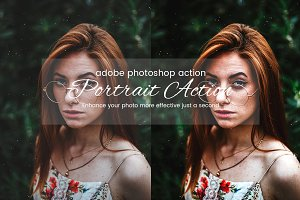 Photoshop Portrait Action