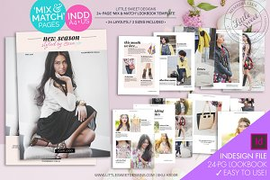 24 page eBook Lookbook Template INDD