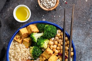Buddha Bowl with quinoa