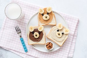 School lunch or breakfast for kids