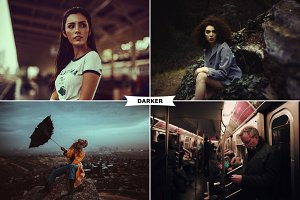 Darker Photoshop Actions