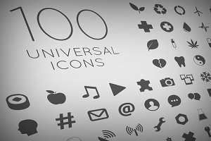 100 Vector Icon Set