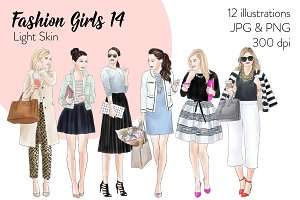 Fashion girls 14 - Light Skin