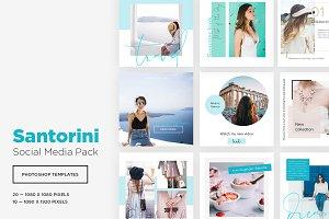SANTORINI | Social Media Pack