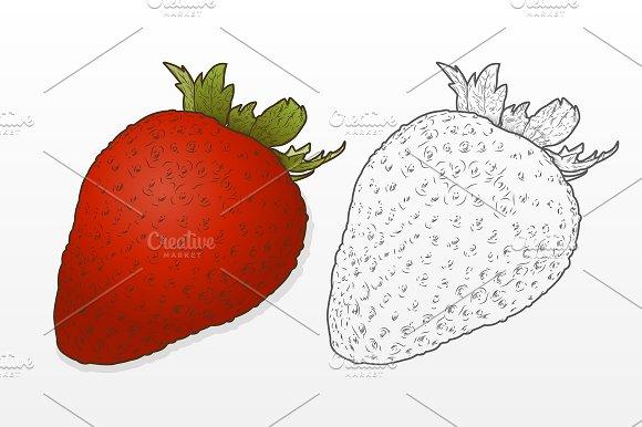 Strawberry Fruit in Objects