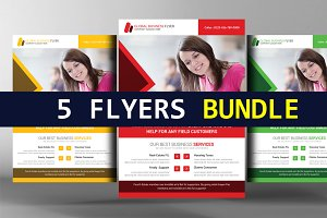 5 General Purpose Corporate Flyers