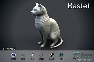 Egyptian cat statue bastet