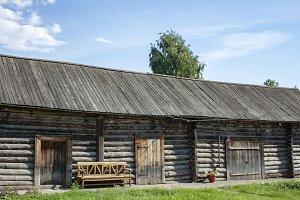 Old village barn