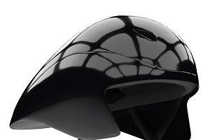 3D Model Time Trial Bicycle Helmet
