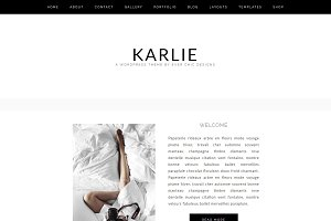 Karlie - Feminine WordPress Theme