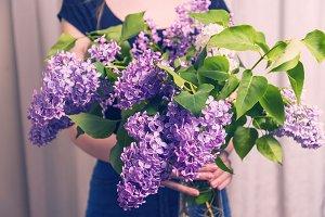 lilac bouquet
