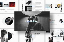 PORTAL Keynote Presentation Template by GoaShape in Presentations