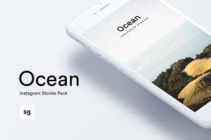 Ocean Instagram Stories Pack