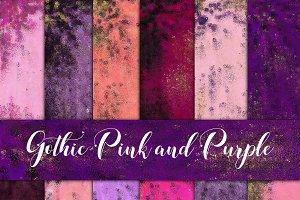 Gothic Pink & Purple Foils