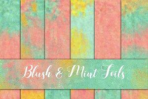 Mint & Blush Digital Paper