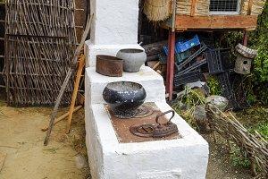 Russian Cossack outdoor oven