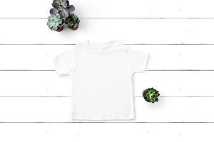 Bella Canvas Toddler TShirt Mockup