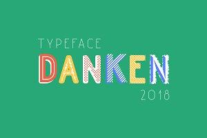 Danken typeface (26 styles)