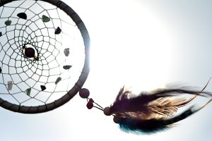 Dreamcatcher in the Sun