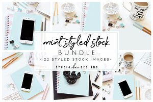 Styled Desktop Stock Photo Bundle