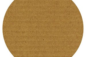 brown corrugated cardboard texture isolated over white