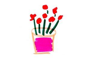 Floral Bouquet Art Illustration