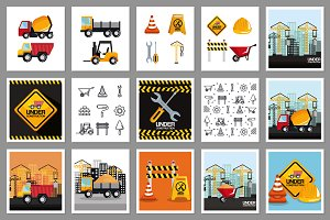 30 Construction Vector Collection