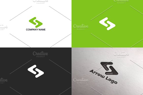 Arrow logo design | Free UPDATE in Logo Templates
