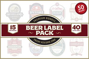 Premium Bundle Beer Label Pack