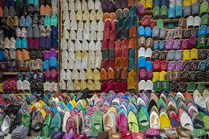 Moroccan Shoe Market Shop