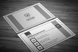 Silveriouly Elegant Business Card