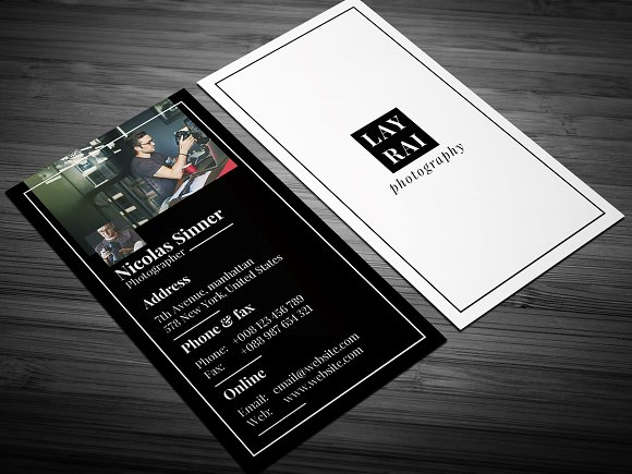 Siminal photography business card business card templates siminal photography business card business cards wajeb Image collections