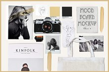 Moodboard Mockup vol.2 by Thomas Cunningham in Product Mockups