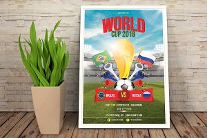 Football Word Cup Flyer V01