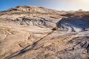 Beautiful landscape of desert