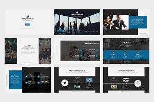 Wergy Business Powerpoint Template