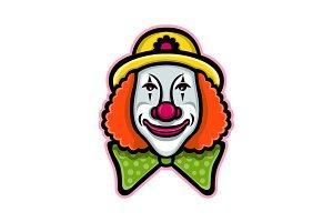 Circus Clown Mascot