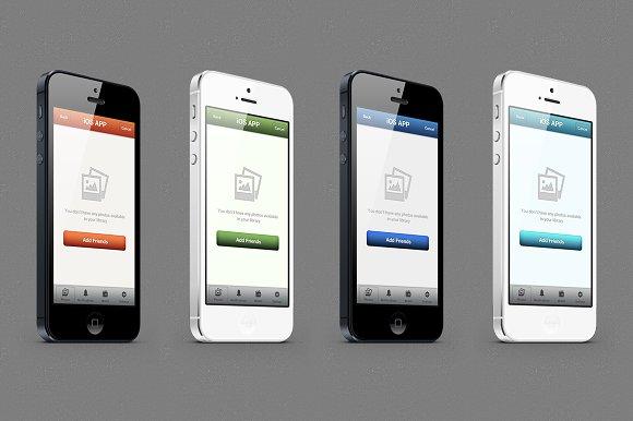 ios app template templates creative market