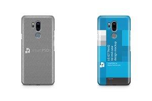 LG G7 ThinQ 3d IMD Case Mockup