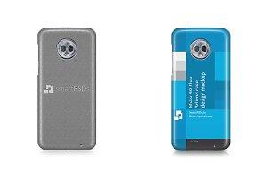 Moto G6 Plus 3d IMD Case Mockup