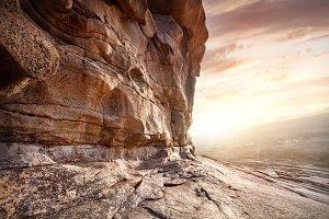 Beautiful desert scenic
