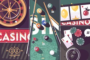 Gambling game background