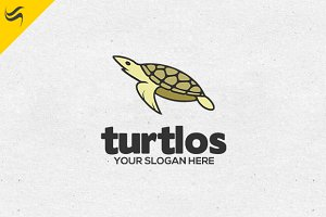 Turtlos Logo Template