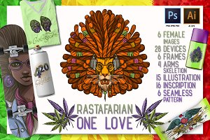 One Love. Rastaman Set