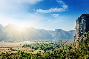 Mountains in Laos